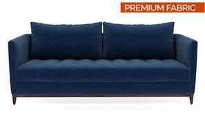Florence Compact Sofa (Cobalt Blue)