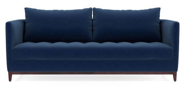 Florence Compact Sofa (Cobalt Blue) (Cobalt, Fabric Sofa Material, Compact Sofa Size, Regular Sofa Type)