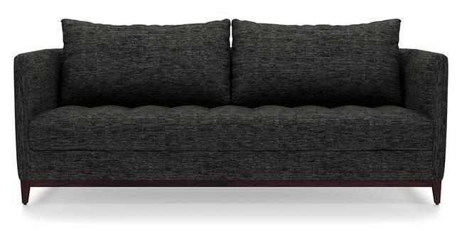 Florence Compact Sofa (Cosmic Grey) (Cosmic, Fabric Sofa Material, Compact Sofa Size, Regular Sofa Type)