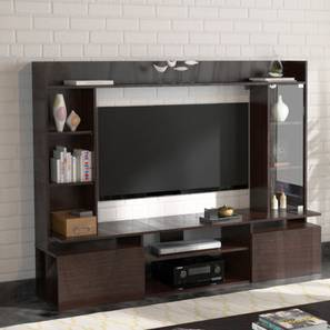 Celestin TV Unit Dark Oak Finish By Urban Ladder