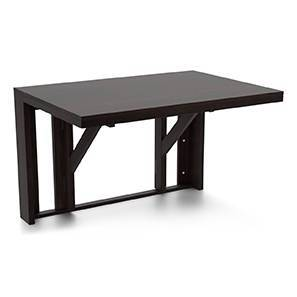 Blaine Wall Mounted Dining Table (Mahogany Finish)