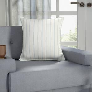 """Terell Stripes Cushion Cover (Blue, 16"""" X 16"""" Cushion Size)"""