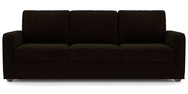 Apollo Sofa Set (Dark Earth, Fabric Sofa Material, Regular Sofa Size, Soft Cushion Type, Regular Sofa Type, Master Sofa Component)