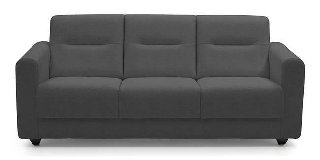 Lloyd Leatherette Sofa (Thundercloud) (Thundercloud, Leatherette Sofa Material, Compact Sofa Size, Regular Sofa Type)