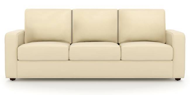 Apollo Sofa Set (Cream, Leatherette Sofa Material, Regular Sofa Size, Soft Cushion Type, Regular Sofa Type, Master Sofa Component)
