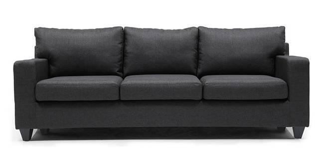 Walton Sofa (Steel Grey) (Steel, Fabric Sofa Material, Regular Sofa Size, Regular Sofa Type)