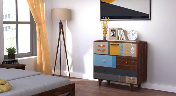 Pastell Chest of Drawers (Multicolored Finish) by Urban Ladder