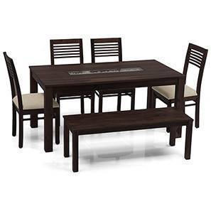 Brighton zella 4 seater bench dining table set mh wb 00 lp