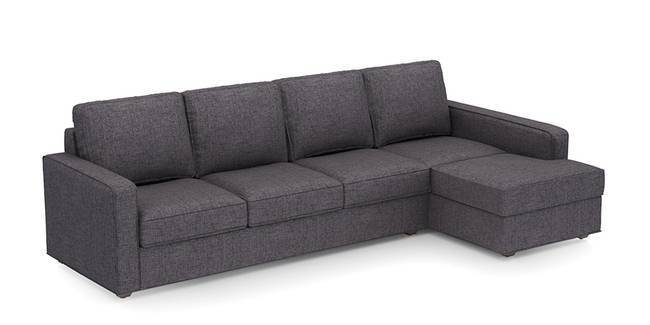 Apollo Sofa Set (Steel, Fabric Sofa Material, Compact Sofa Size, Soft Cushion Type, Sectional Sofa Type, Sectional Master Sofa Component)