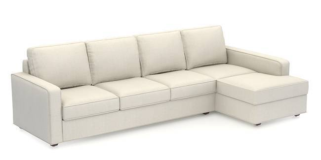 Apollo Sofa Set (Pearl, Fabric Sofa Material, Regular Sofa Size, Soft Cushion Type, Sectional Sofa Type, Sectional Master Sofa Component, Regular Back Type, Regular Back Height)