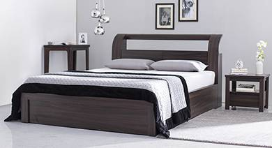 Images Of Beds Inspiration Bed Designs Buy King & Queen Size Beds Online  Urban Ladder Design Ideas