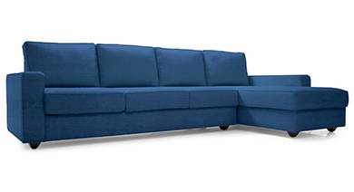 Apollo sectional sofa cobalt