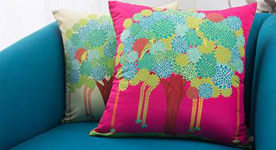Cushion covers cushions