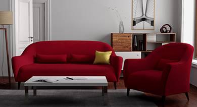 Fabric sofa 250618