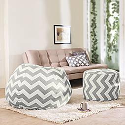 Baggo canvas beanbag lounge set 00 lp