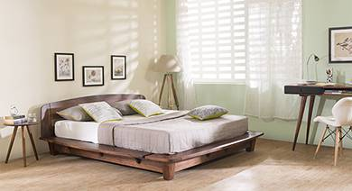 Bed without storage
