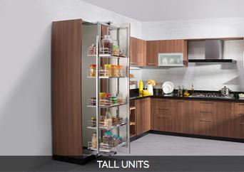 Modular kitchen units urban ladder for Kitchen tall unit design