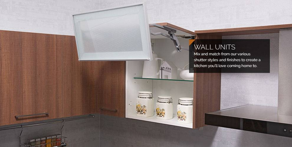Modular Kitchen Units Wall Cabinets