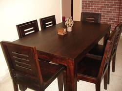 Dining Table arabia - oribi 6 seater dining table set (with bench) - urban ladder