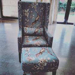 morgen wing chair u0026 ottoman ulstory